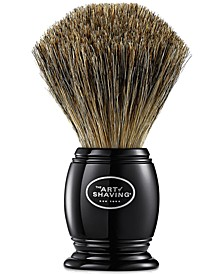 The Men's Black Pure Badger Brush