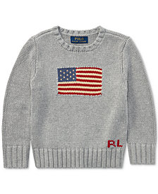 Ralph Lauren Cotton Sweater, Toddler Boys