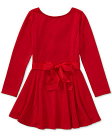 Ralph Lauren Fit & Flare Dress, Toddler Girls