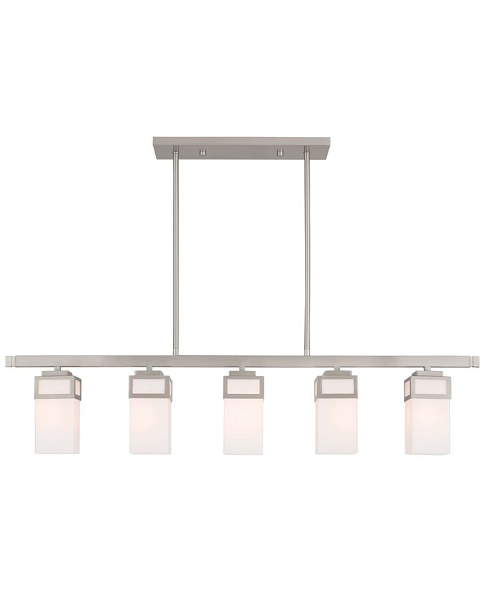 Livex - Harding 5-Light Linear Chandelier