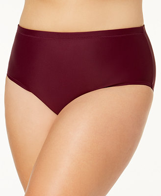 Trendy Plus St. Vincent High Waist Bikini Bottoms by Raisins Curve