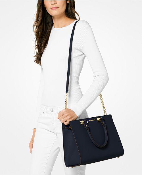 b9dc08fa4322 Michael Kors Quinn Large Satchel   Reviews - Handbags   Accessories ...