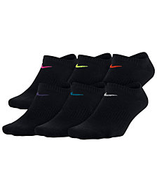 Nike 6-Pk. Sportswear No-Show Performance Socks