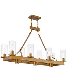 Livex Metuchen 11-Light Linear Chandelier