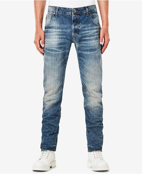 ccd56984779 G-Star Raw Men's Arc 3D Slim-Fit Stretch Jeans & Reviews - Jeans ...