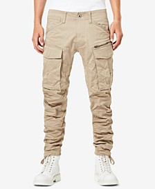 Men's Rovic 3D Straight Tapered Fit Cargo Pants