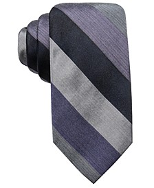 Men's Audio Melange Stripe Tie, Created for Macy's