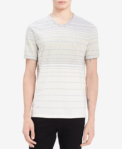 Calvin Klein Jeans Men's Heather Stripe T-Shirt