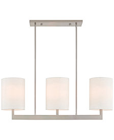 Livex Hayworth 3-Light Linear Chandelier