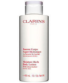 Clarins Moisture-Rich Body Lotion, 13.6-oz.