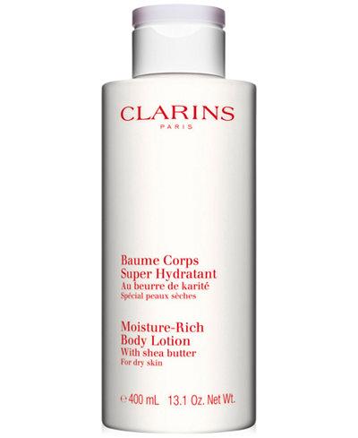 Clarins Luxury Size Moisture-Rich Body Lotion, 13.6 oz.