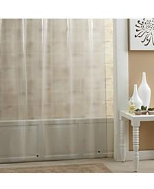 "Mildew-Resistant PEVA 70"" x 72"" Shower Curtain Liner"