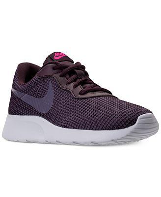 Nike Women's Tanjun SE Casual Sneakers from Finish Line