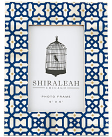 Shiraleah Boheme Geometric Print 4'' x 6'' Picture Frame