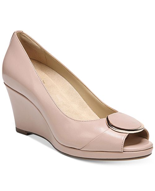 3775409c297c Naturalizer Ollie Wedge Sandals   Reviews - Sandals   Flip Flops ...