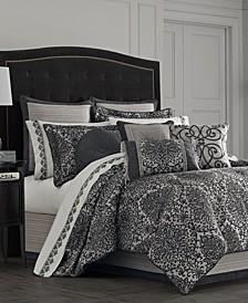 Raffaella Graphite Bedding Collection