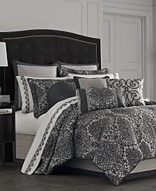 J Queen New York Raffaella Graphite Bedding Collection