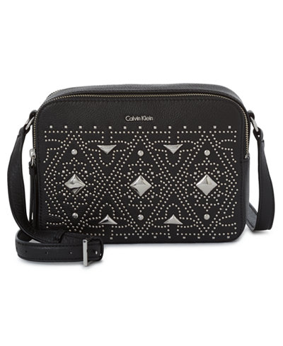 Calvin Klein Small Studded Camera Bag