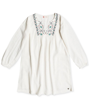 Roxy Embroidered Cotton Dress Big Girls (716)