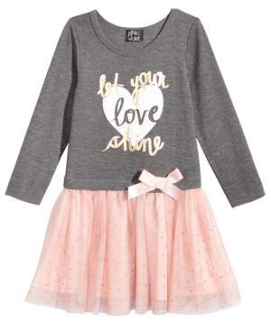Pink  Violet LayeredLook Tutu Dress Little Girls (26X)
