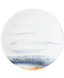 Watercolor Horizons Microwave Safe Dinner Plate, Created for Macy's