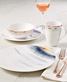 Lenox Watercolor Horizons Microwave Safe Dinnerware Collection, Created for Macy's