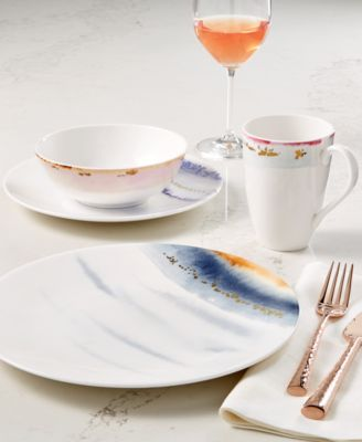 Lenox Watercolor Horizons Dinnerware Collection Created for Macy\u0027s & Lenox Watercolor Horizons Dinnerware Collection Created for Macy\u0027s ...