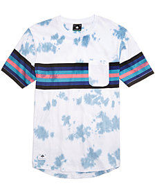 LRG Men's Sky High Tie-Dye Print T-Shirt
