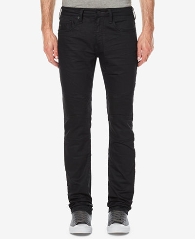 Buffalo David Bitton Men's Ash-X Slim Fit Stretch Moto Jeans