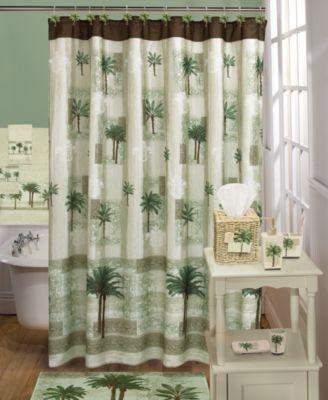 Citrus Cotton Palm-Print Fingertip Towel