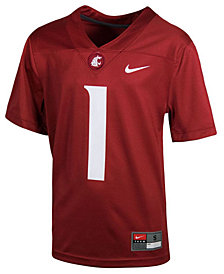 Nike Washington State Cougars Replica Football Game Jersey, Big Boys (8-20)