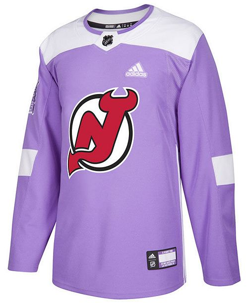 reputable site ce573 7a926 adidas Men's New Jersey Devils Authentic Hockey Fights ...