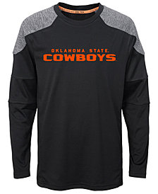 Outerstuff Oklahoma State Cowboys Gamma Long Sleeve T-Shirt, Big Boys (8-20)