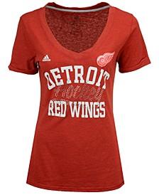 Women's Detroit Red Wings Hockey Shine T-Shirt
