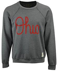 Retro Brand Men's Ohio State Buckeyes Logo Script Crew Sweatshirt