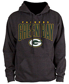 Authentic NFL Apparel Men's Green Bay Packers Defensive Line Hoodie