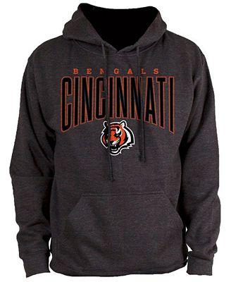 Authentic NFL Apparel Men's Cincinnati Bengals Defensive Line Hoodie