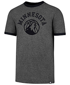 '47 Brand Men's Minnesota Timberwolves Capital Ringer T-Shirt
