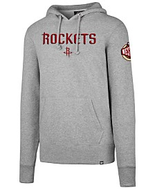 '47 Brand Men's Houston Rockets Double Double Pullover Hoodie