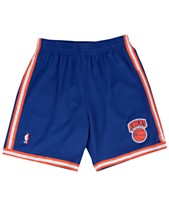 2de3b0ada8acd7 Mitchell & Ness Men's New York Knicks Swingman Shorts