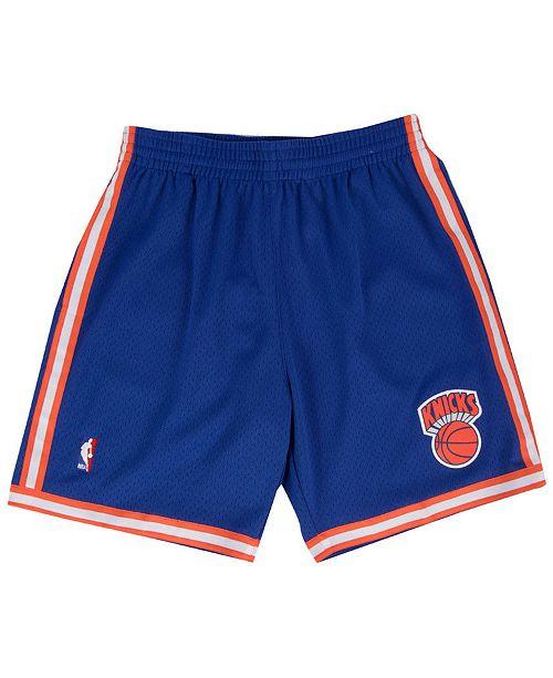 Mitchell & Ness Men's New York Knicks Swingman Shorts