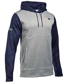 Under Armour Men's New England Patriots Armour Fleece Hoodie