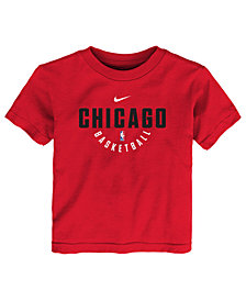 Nike Chicago Bulls Elite Practice T-Shirt, Little Boys (4-7)