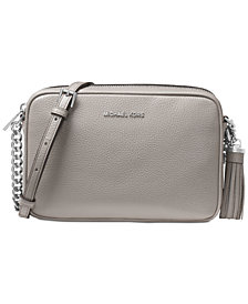 Michael Kors Ginny Pebble Leather Camera Bag