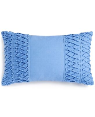 """Tassel Trail 14"""" x 24"""" Decorative Pillow, Created for Macy's"""