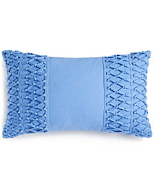 "Whim by Martha Stewart Collection Tassel Trail 14"" x 24"" Decorative Pillow, Created for Macy's"