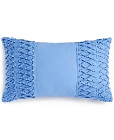"CLOSEOUT! Whim by Martha Stewart Collection Tassel Trail 14"" x 24"" Decorative Pillow, Created for Macy's"