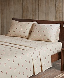 Cotton Flannel 3-Piece Twin Sheet Set