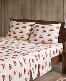 Cotton Flannel 4-Piece Full Sheet Set