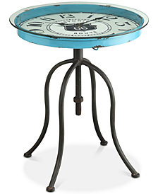 Prinsen Clock Table, Quick Ship